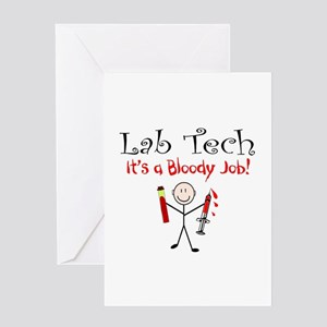 Phlebotomist Greeting Card
