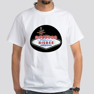 Fabulous Bisbee White T-Shirt