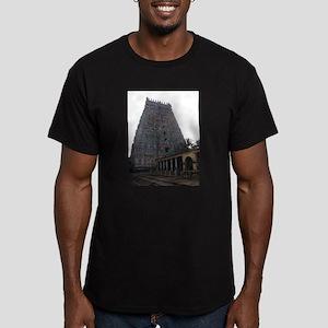 Adi Kumbeswarar Temple Men's Fitted T-Shirt (dark)