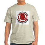 Star Trek Red Shirt Warning Light T-Shirt