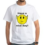 Vulcan Smiley White T-Shirt
