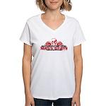Mass Deathtruction Women's V-Neck T-Shirt