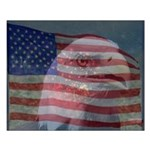 Patriotic Themes Small Poster
