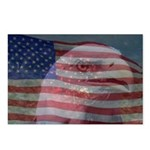 Patriotic Themes Postcards (Package of 8)