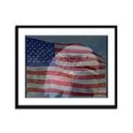 Patriotic Themes Framed Panel Print