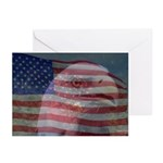 Patriotic Themes Greeting Cards (Pk of 20)