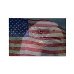 Patriotic Themes Rectangle Magnet (100 pack)