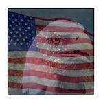 Patriotic Themes Tile Coaster