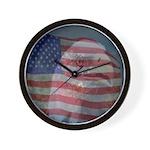 Patriotic Themes Wall Clock