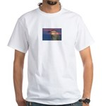 Patriotic Themes White T-Shirt