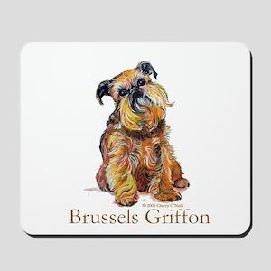 Brussels Griffon Mousepad
