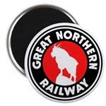 Great Northern Round Magnet
