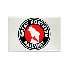 Great Northern Rectangle Magnet (10 pack)
