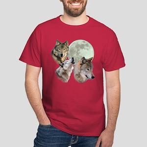 New Moon Wolf Dark T-Shirt