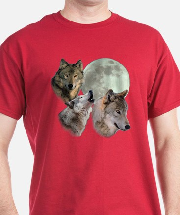 New Moon Wolf T-Shirt