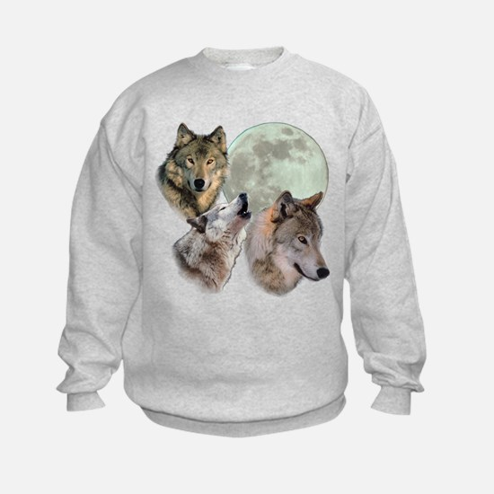 New Moon Wolf Sweatshirt
