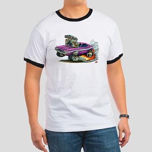 Dodge Challenger Purple Car Ringer T