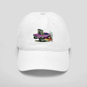 Dodge Challenger Purple Car Cap