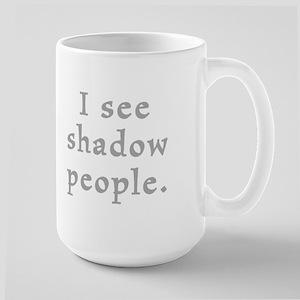 Shadow People Large Mug