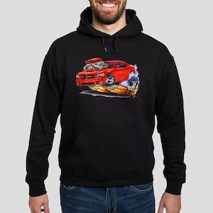 Dodge Charger Red Car Hoodie (dark)
