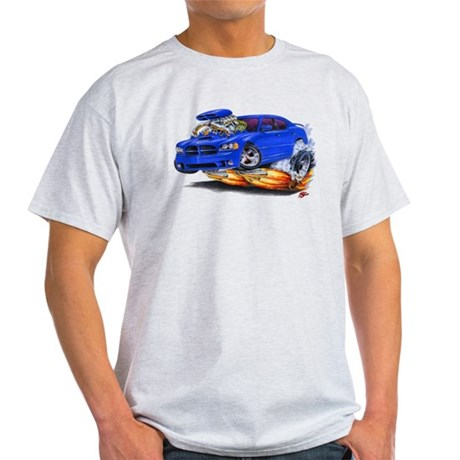 Dodge Charger Blue Car Light T-Shirt
