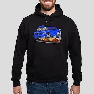 Dodge Charger Blue Car Hoodie (dark)