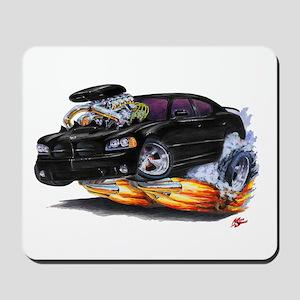 Dodge Charger Black Car Mousepad
