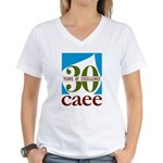 Women's V-Neck 30 Years Of Excellence T-Shirt