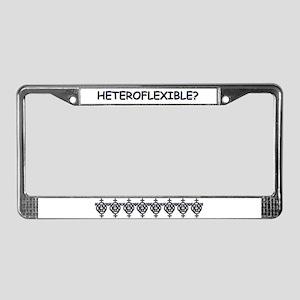 HETROFLEXIBEL SWINGERS SYMBOL License Plate Frame