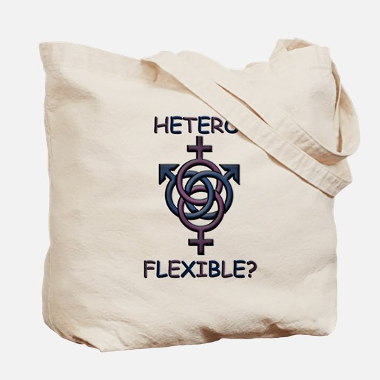 HETROFLEXIBEL SWINGERS SYMBOL Tote Bag