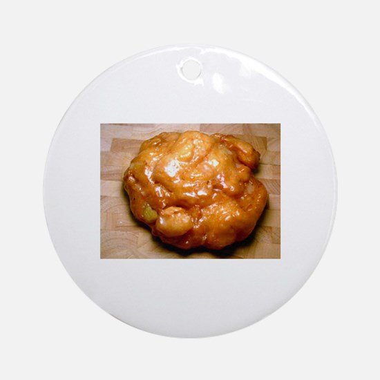 Apple Fritter Ornament (Round)