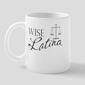 Wise Latina (Scales) Mug