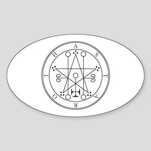 Seal of Astaroth Oval Sticker