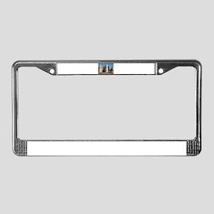 Ata Darvaza Gate License Plate Frame