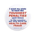 "Toughest Penalties 3.5"" Button (100 pack)"