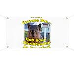 Squirrel Your Birdfeer Is Empty L Banner