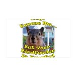 Squirrel Your Birdfeer Is Empty L Wall Decal