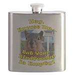 Squirrel Your Birdfeer Is Empty L Flask