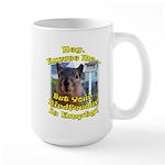 Squirrel Your Birdfeer Is Empty L Mugs