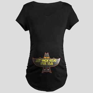 Halloween Bat Maternity T-Shirt
