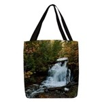 Wagner Falls Polyester Tote Bag