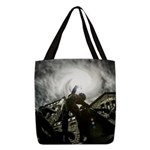 Day Of Reckoning Polyester Tote Bag