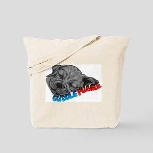 Cuddle Puggle Tote Bag