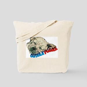 Fawn Cuddle Puggle Tote Bag