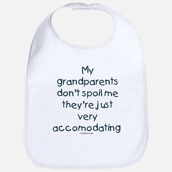 Grandparents Don't Spoil Bib