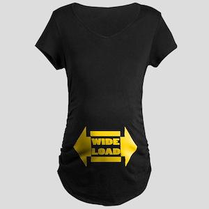 Wide Load Maternity Dark T-Shirt