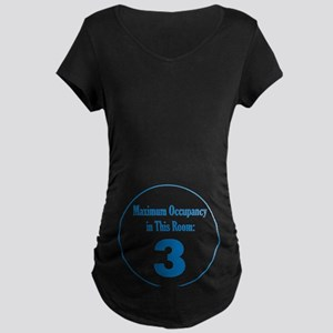 Triplet Boys Maternity Dark T-Shirt