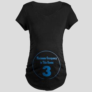 Triplet Boys Maternity Dark T-Shirt