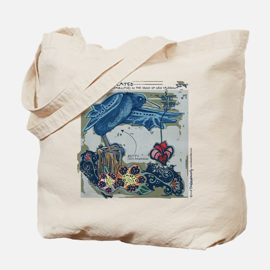 """Tote Bag - """"Crows of New Caledonia"""""""