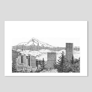 Portland/Mt. Hood Postcards (Package of 8)